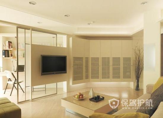 小户型现代风格设计要点 74平米现代风格装修效果图