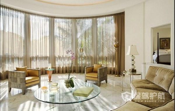 弧形客厅好不好?弧形客厅装修有什么禁忌?
