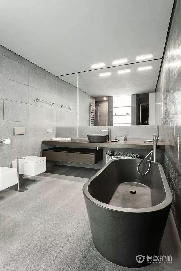 浅灰色地砖美缝效果图 灰色地砖配什么颜色踢脚线好?