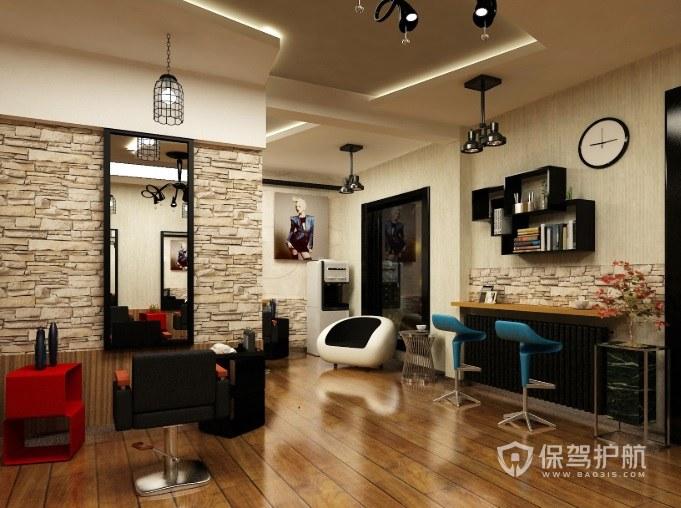 80平理发店如何装修受欢迎?理发店墙面颜色如何选择?