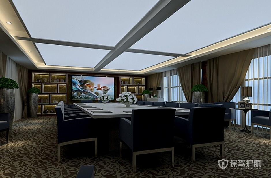 豪华的大会议室装修效果图