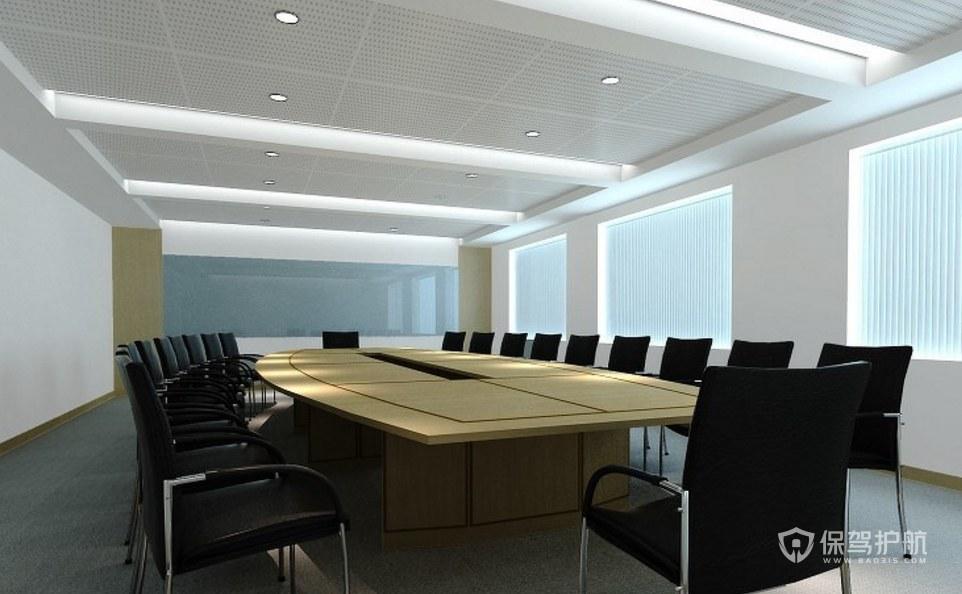 现代风格大会议室装修效果图