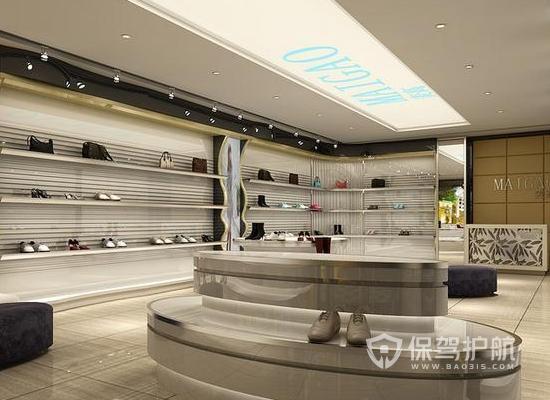 65平米现代风格鞋店装修效果图