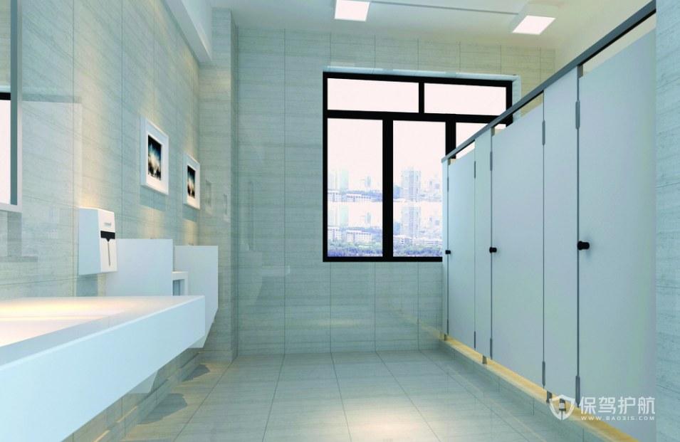 现代风格公司卫生间装修效果图