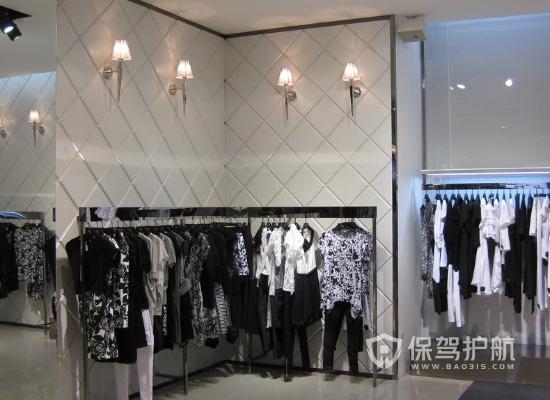 112平米现代风格女装店装修实景图