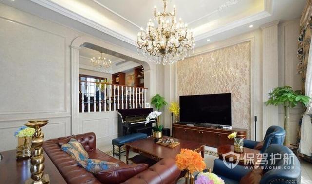 买340㎡大房子,美式别墅半包装修设计,花80万搞定的新家长这样