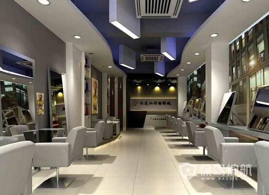 66平米现代风格理发店装修效果图