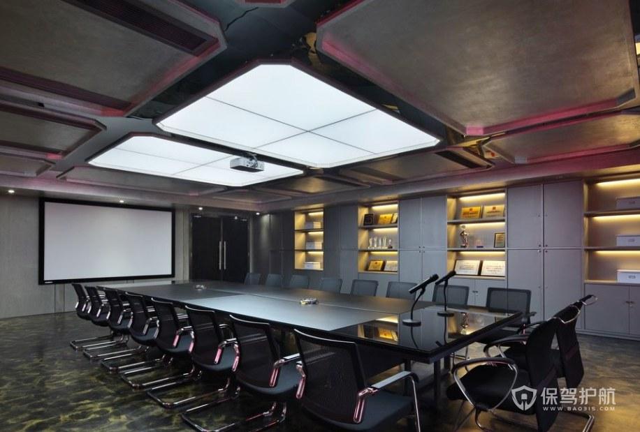 工业风格公司会议室装修效果图
