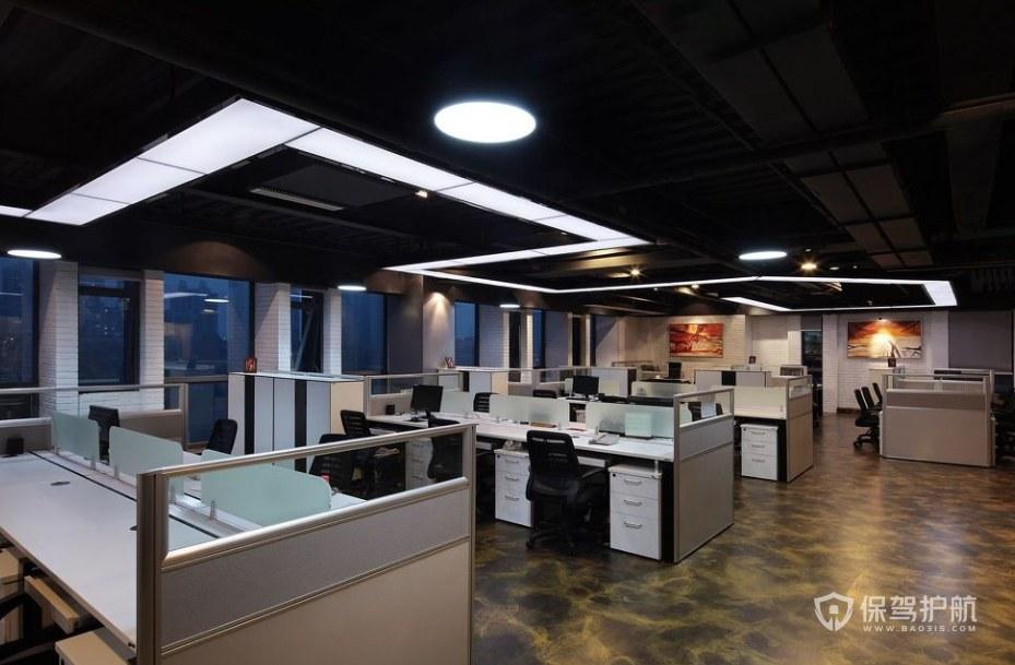 工业风格办公区装修效果图