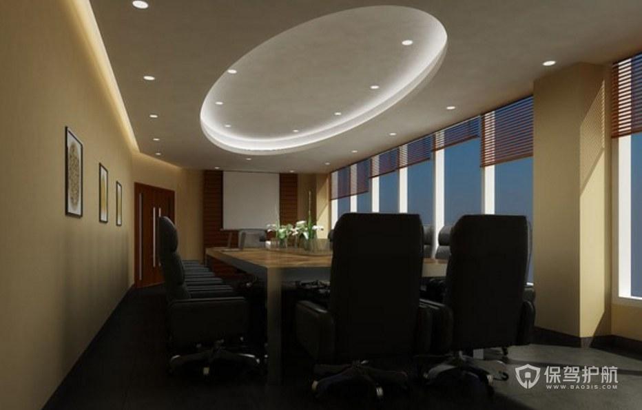古典风格公司会议室装修效果图