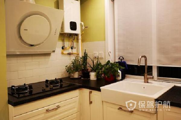 小户型厨房装修效果图-保驾护航装修网