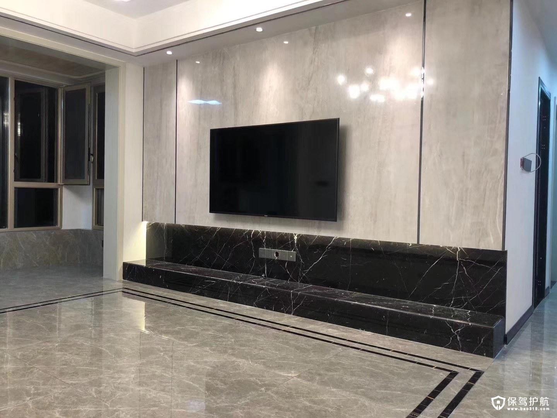 唐家大院現代風格三居室裝修效果圖