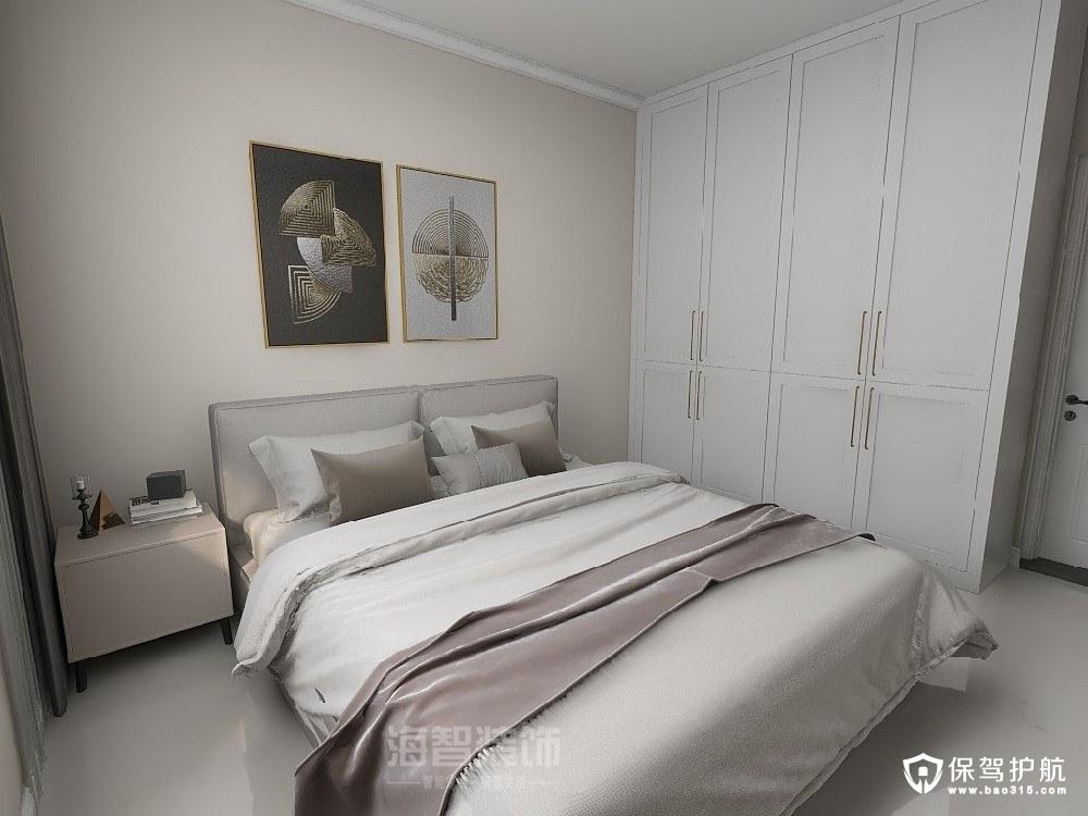 倉雍景山現代風格三居室裝修效果圖