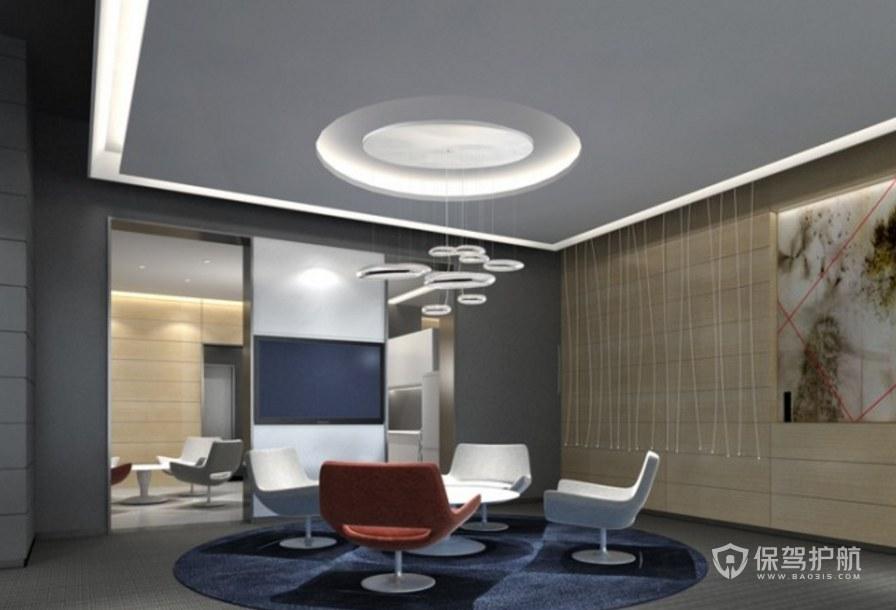 简约创意公司会客室装修效果图
