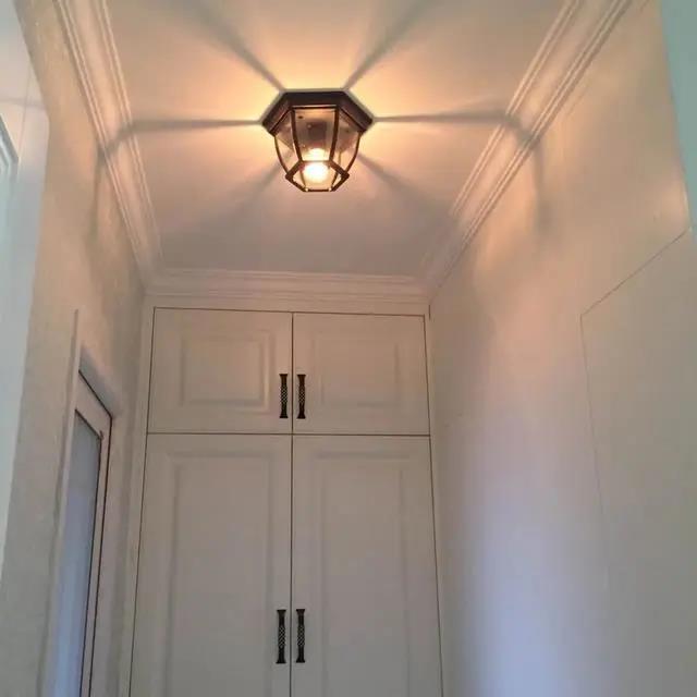 走廊吊顶设计,先看看别人都怎么装!