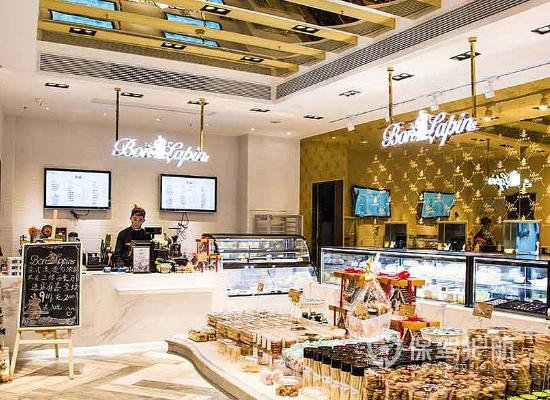 39平米欧式风格甜品店装修效果图
