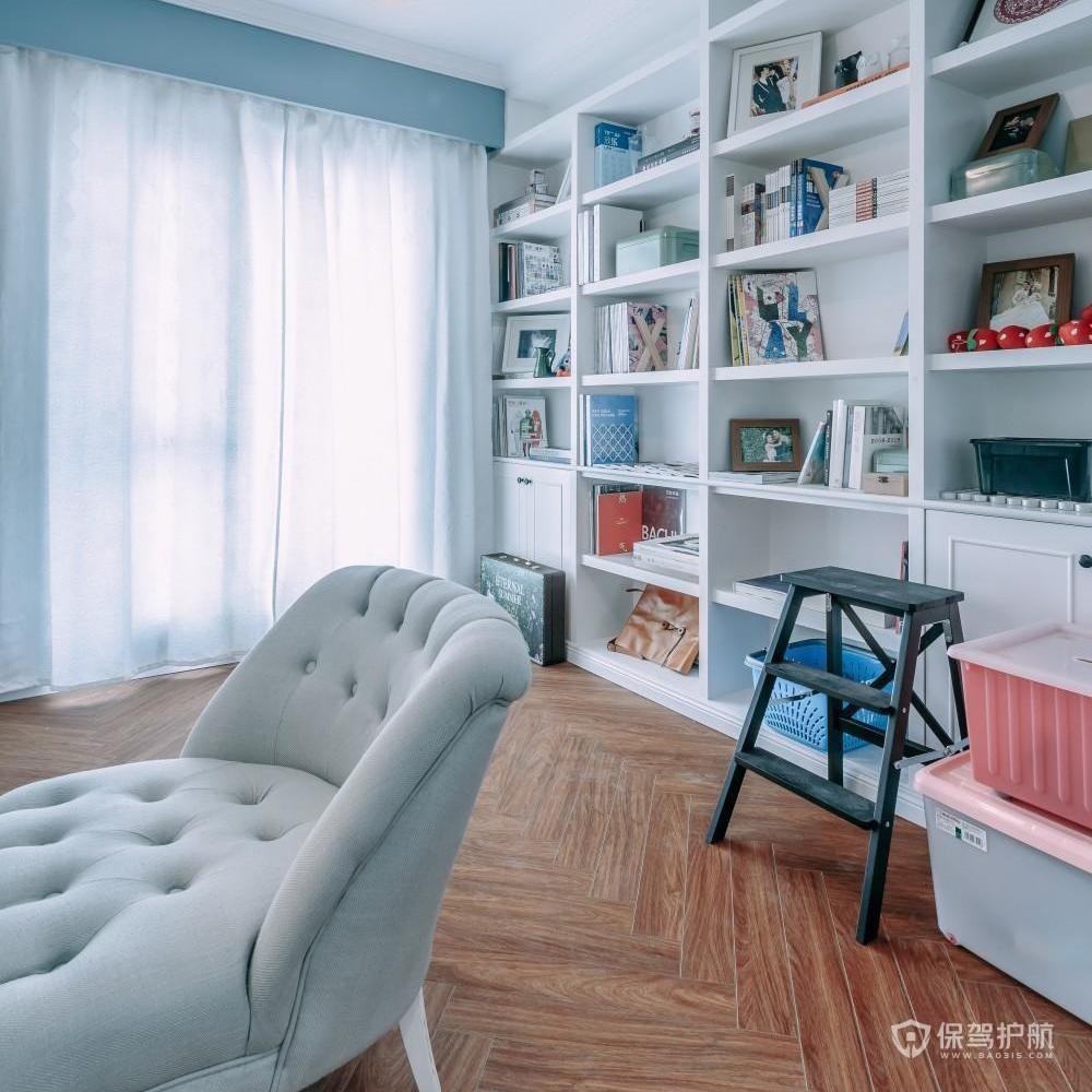北欧风温馨三房书房装修效果图