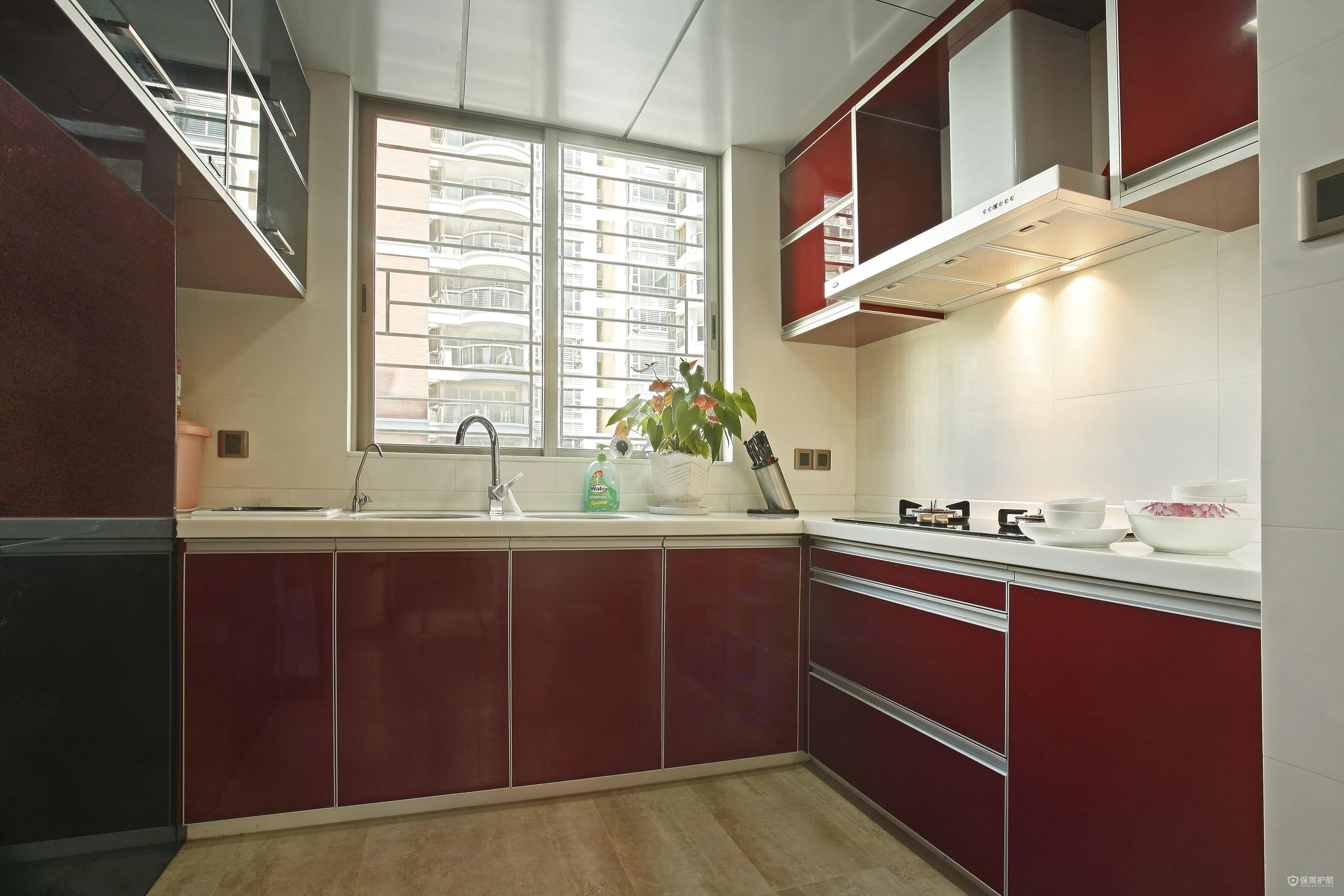 厨房地柜高度多少合适?厨房吊柜一般多高?