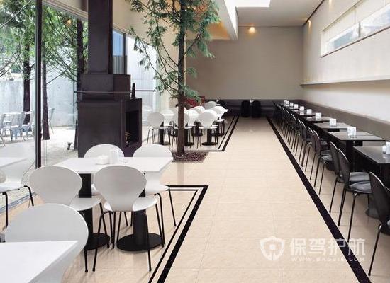 85平米現代風格咖啡廳裝修效果圖