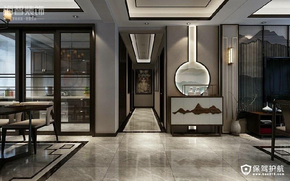 艾美卡特兰175平中式风格四居室装修效果图
