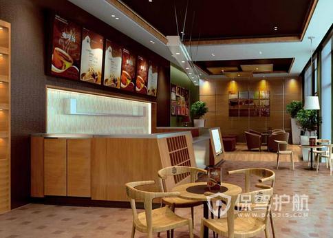 65平米簡約風格咖啡廳裝修效果圖