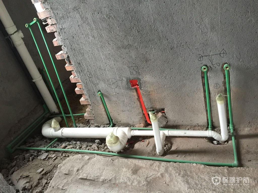 卫生间排水管安装图-保驾护航装修网