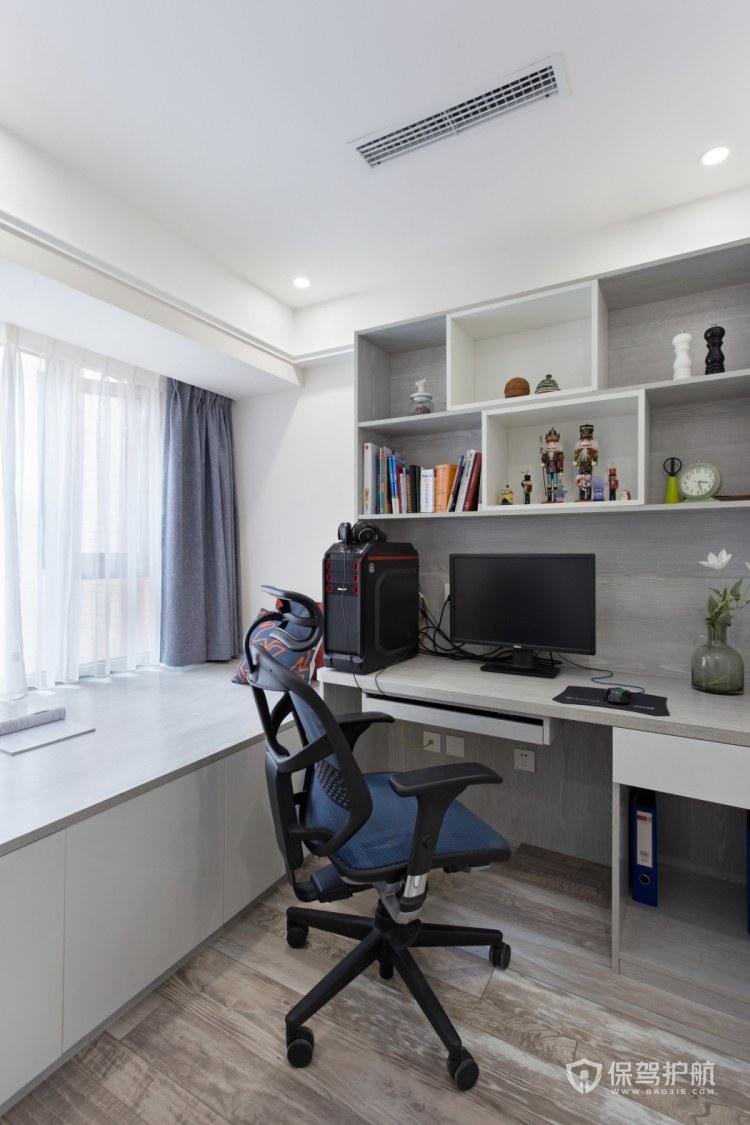 简约风格三居室书房游戏房装修效果图