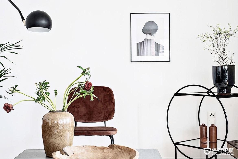 香榭兰庭北欧风格两居室公寓装修效果图