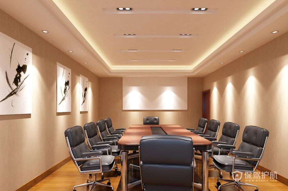 新时尚创意公司会议室装修效果图