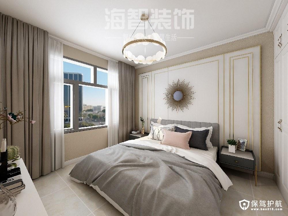 翡翠湖玫瑰园轻奢风格三居室装修效果图