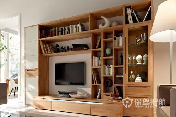 电视柜怎么搭配?电视柜搭配效果图