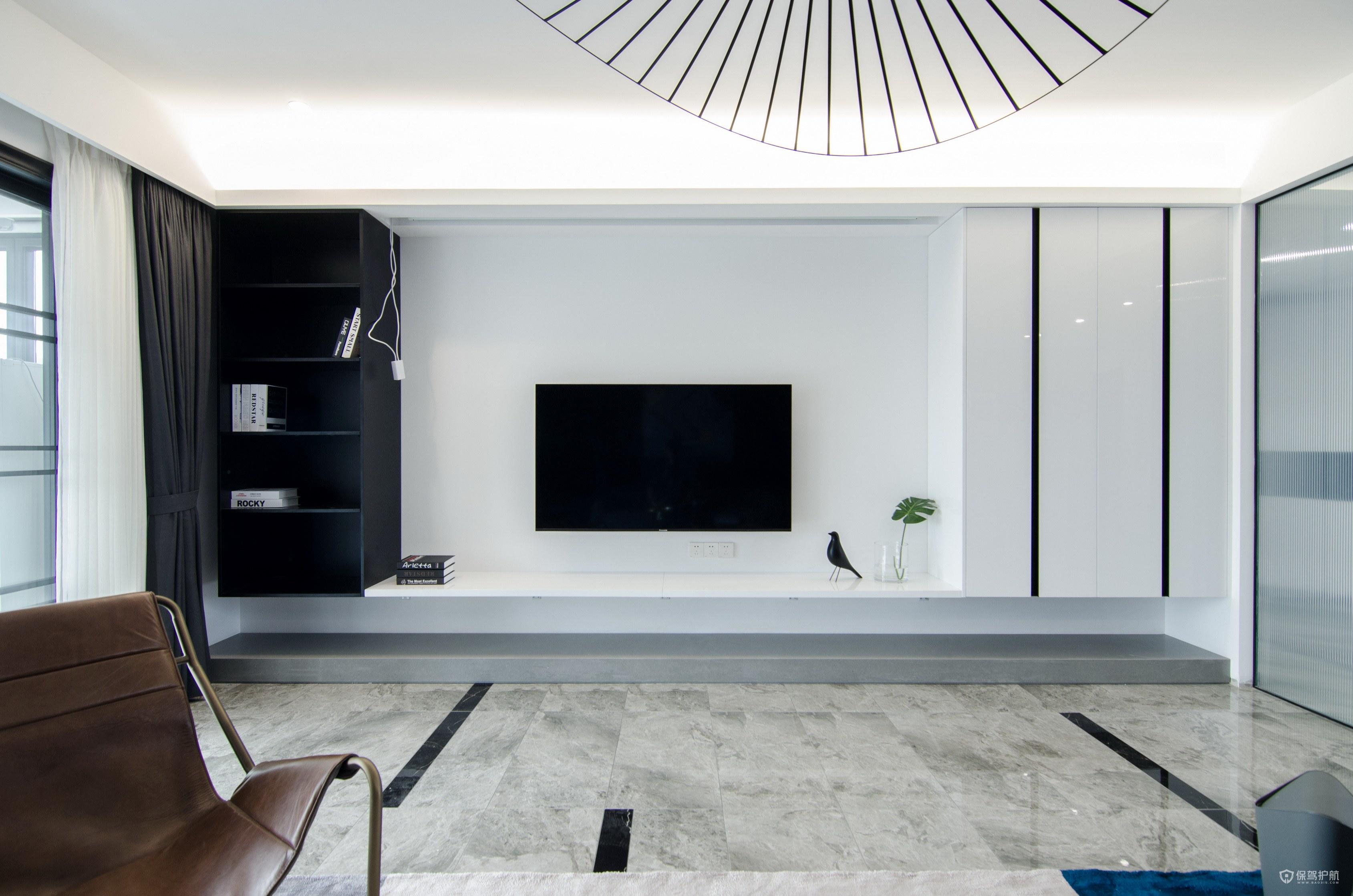 现代简约电视背景墙特点 现代简约电视背景墙效果图