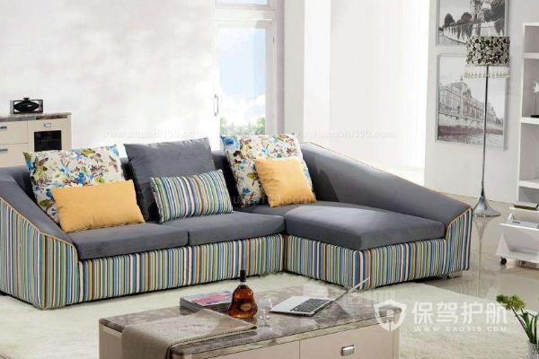 布艺沙发搭配效果-保驾护航装修网