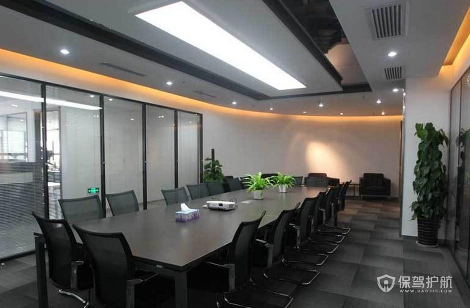 事业单位办公会议室装修效果图