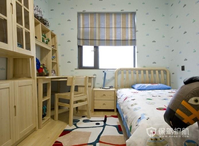14平兒童房定制組合柜裝修效果圖