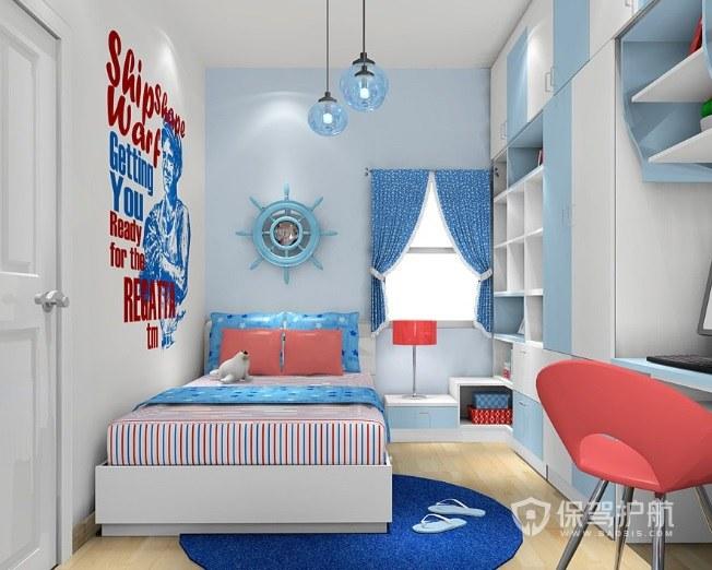 地中海12平可愛兒童房裝修效果圖