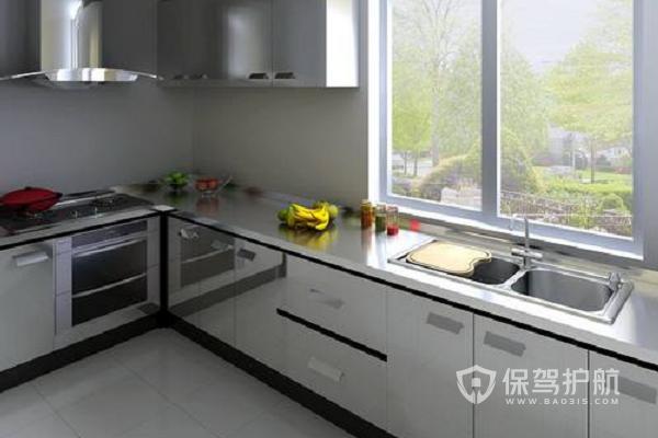 不銹鋼廚房臺面好嗎?不銹鋼廚房臺面安裝要點
