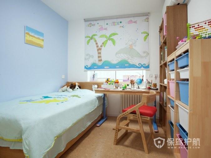 6平超小户型儿童房置物架装修效果图…