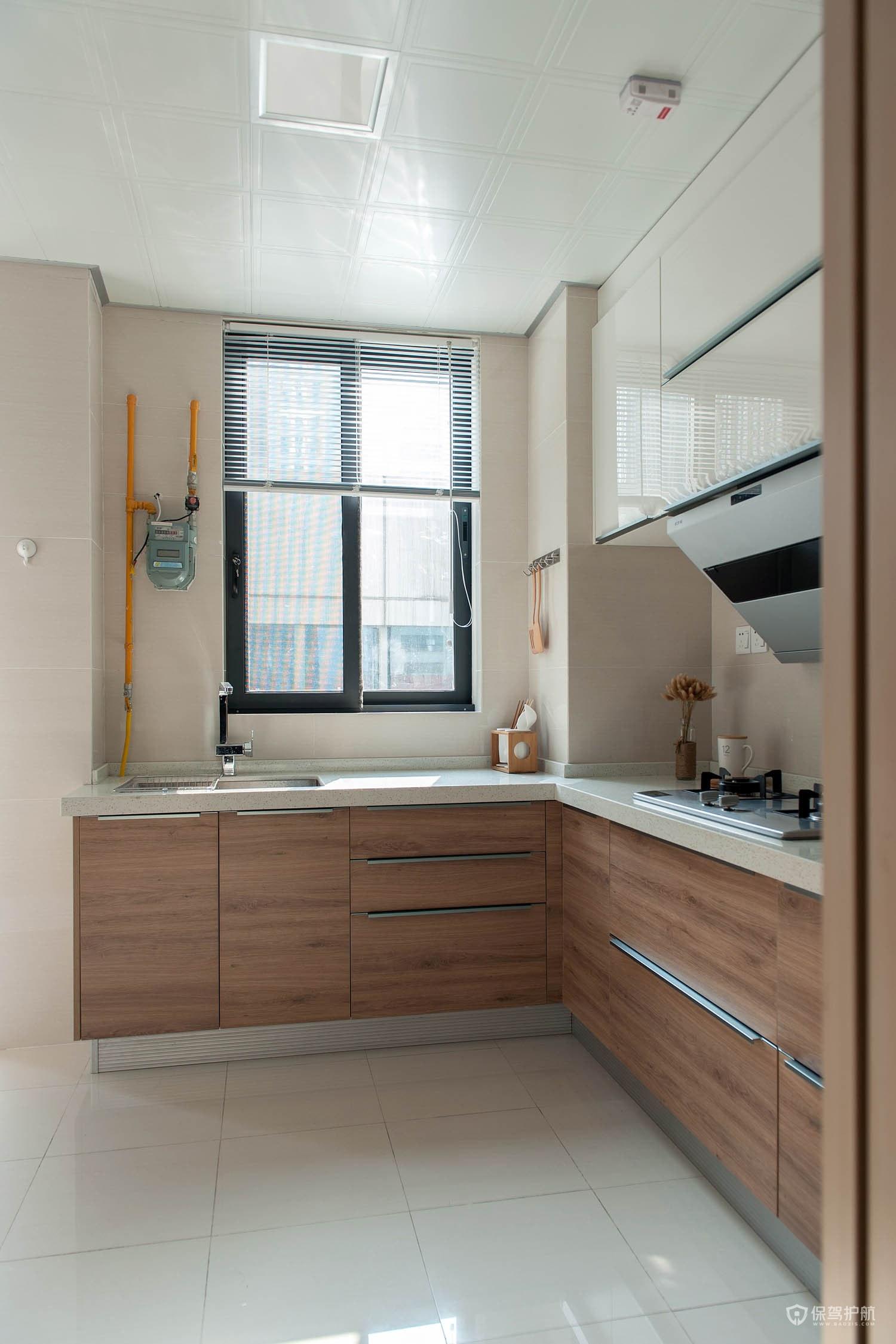 90平日式小戶型廚房裝修效果圖
