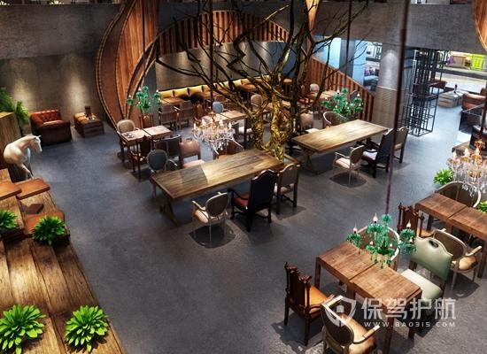 90平米咖啡店装修效果图