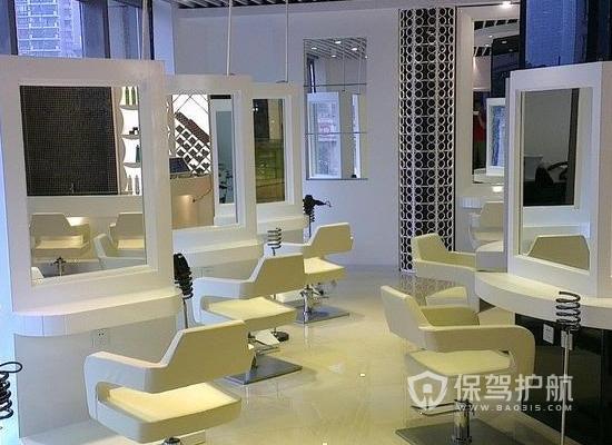 65平米現代風格美發店裝修實景圖