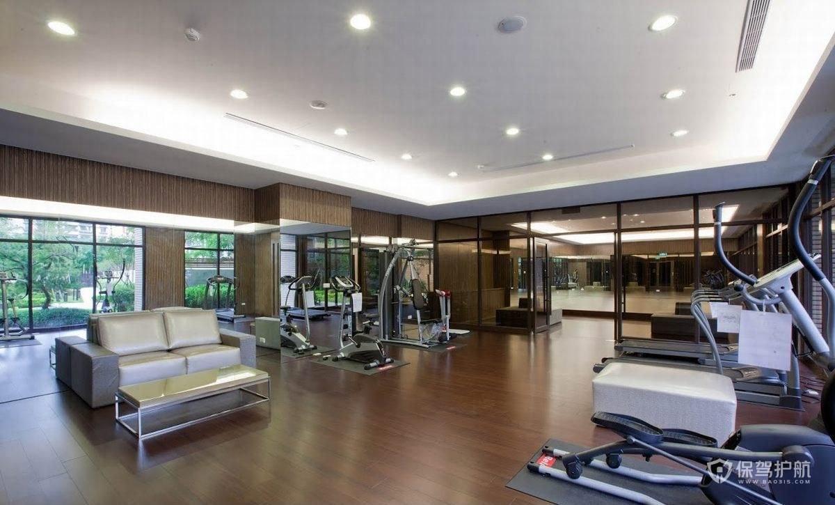 健身房裝修設計要點 健身房裝修設計效果圖