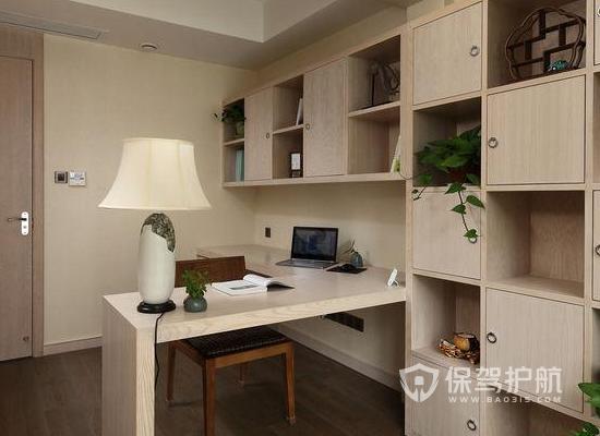 小型书房设计方案 11平米书房亚搏体育平台app效果图
