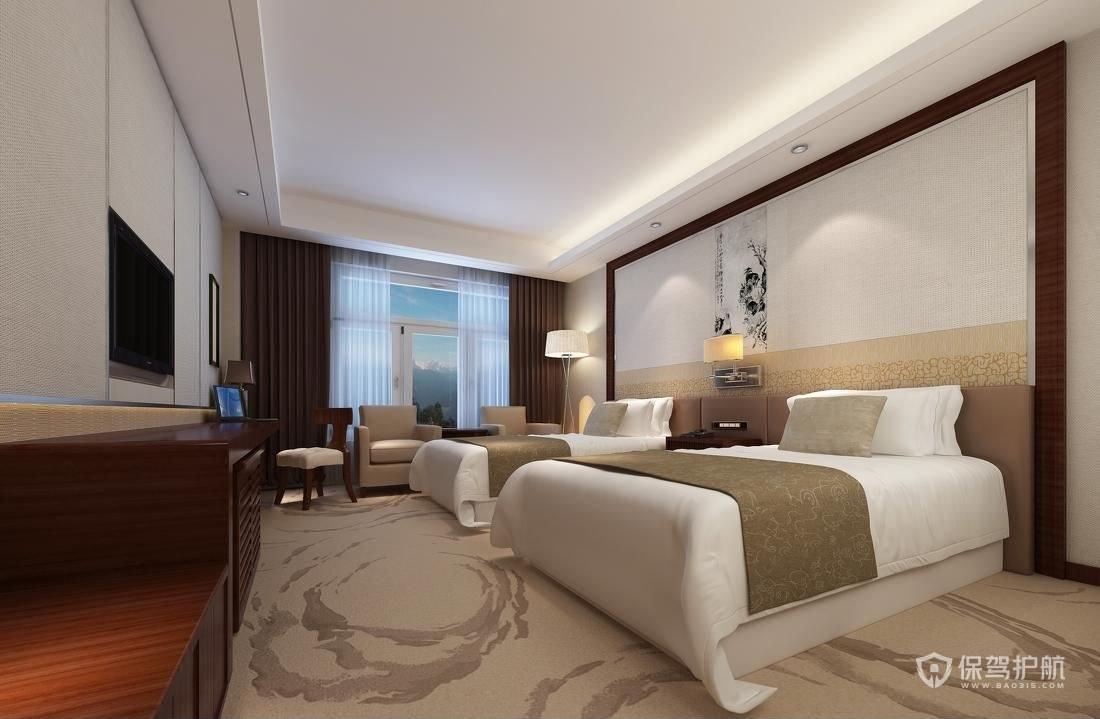 酒店客房裝修注意事項 酒店客房裝修圖片