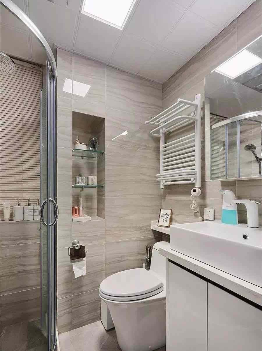 衛生間不足4平米想要干濕分離怎么辦?