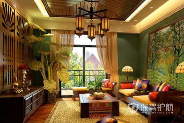 东南亚风格的特点,东南亚风格装修效果图