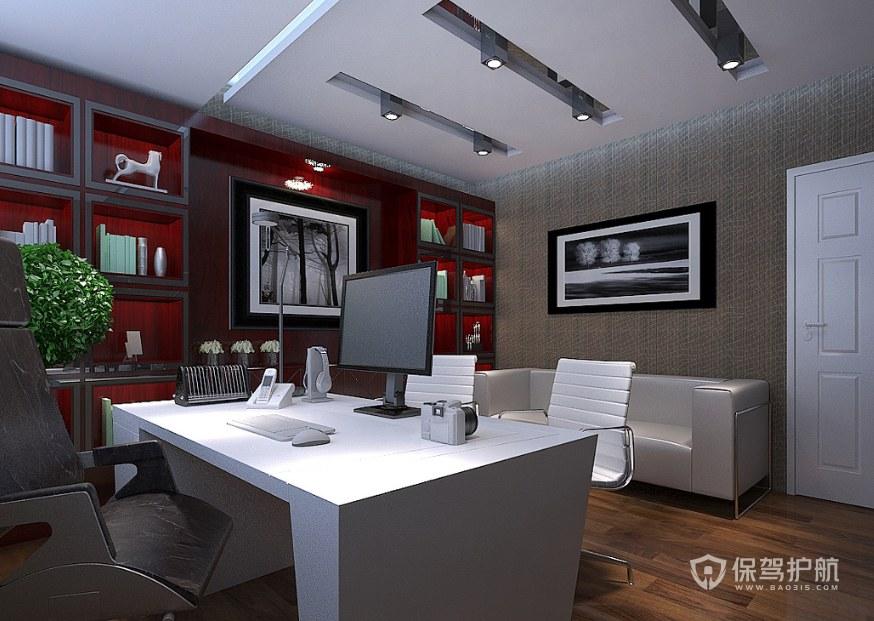 简约格调总监办公室装修效果图