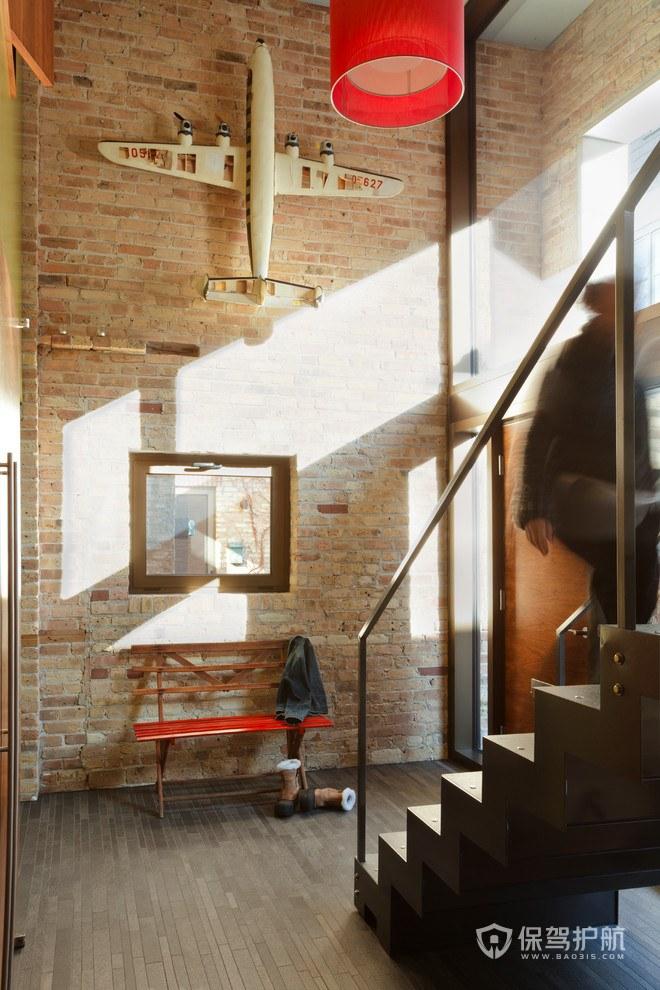 后现代风格公寓玄关亚搏体育平台app效果图