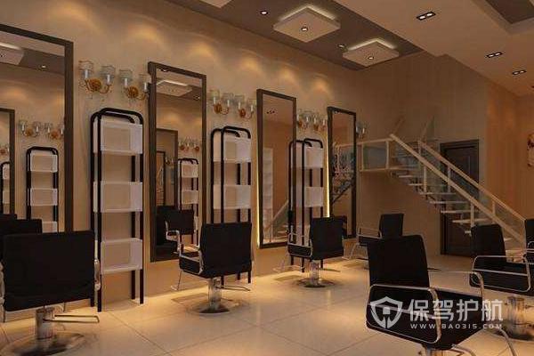 理发店装修要注意什么?理发店设计的要素