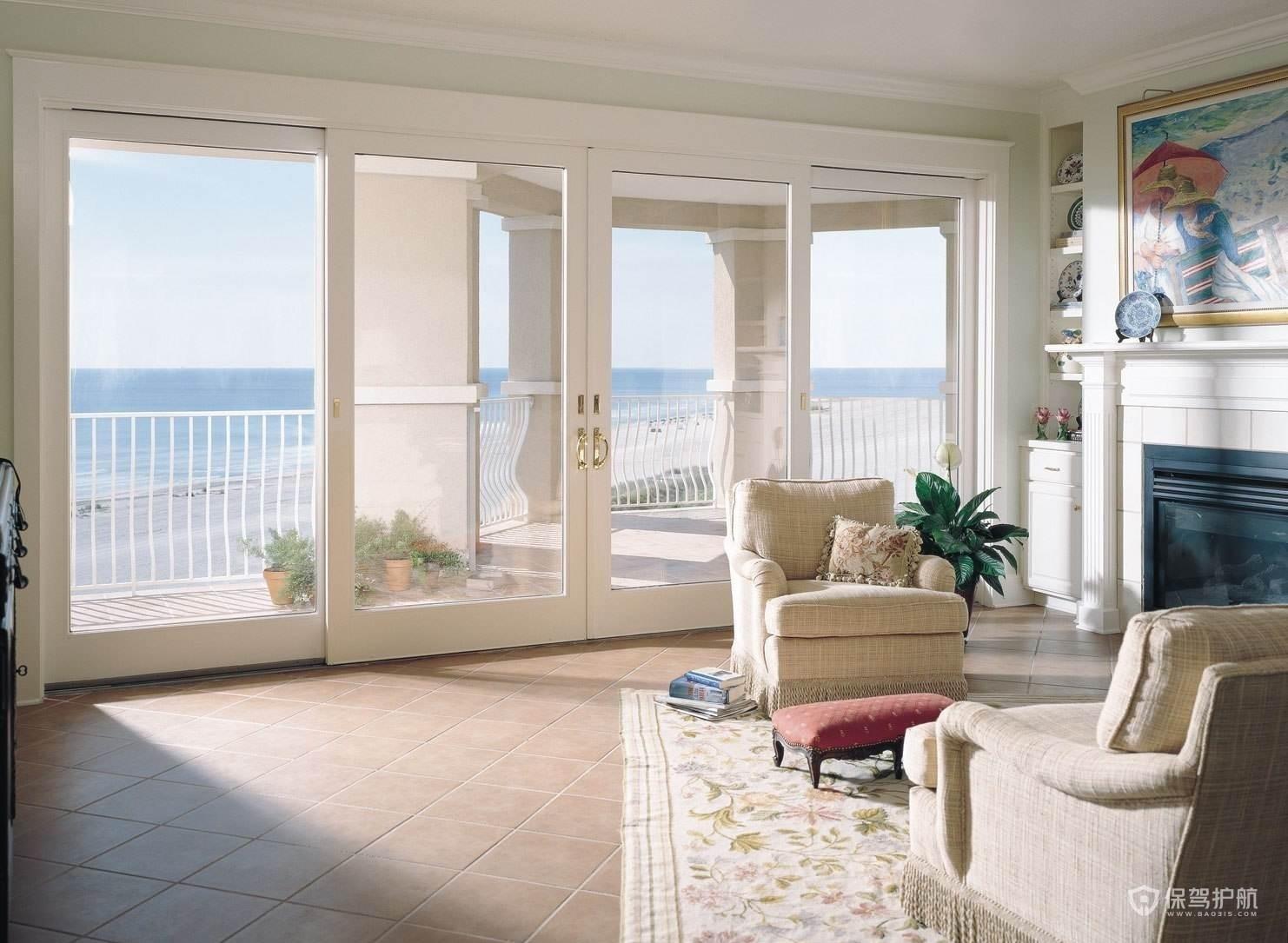 客廳和陽臺之間是否做推拉門?推拉門材料怎么選?